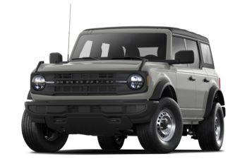 2021 Ford Bronco - Iconic Silver Metallic