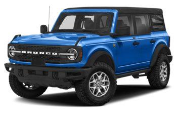 2021 Ford Bronco - Velocity Blue Metallic