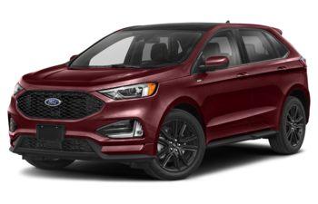 2021 Ford Edge - Burgundy Velvet Metallic Tinted Clearcoat