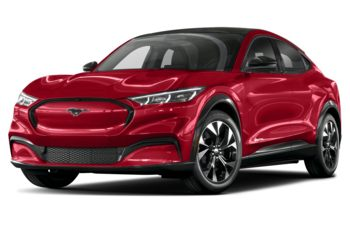 2021 Ford Mustang Mach-E - Rapid Red Tinted Clearcoat