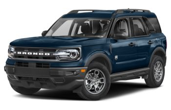 2021 Ford Bronco Sport - Alto Blue Metallic Tinted Clearcoat