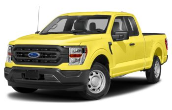 2021 Ford F-150 - Yellow