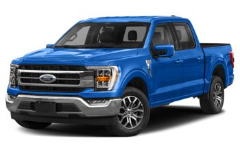 2021 Ford F-150 - Velocity Blue Metallic
