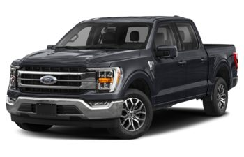2021 Ford F-150 - Antimatter Blue Metallic