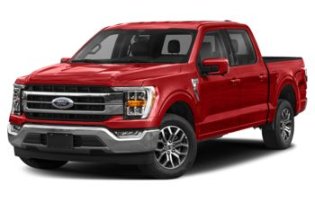 2021 Ford F-150 - Race Red