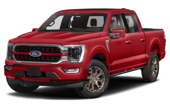2021 Ford F-150 - Rapid Red Metallic Tinted Clearcoat
