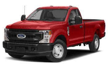 2021 Ford F-350 - Race Red