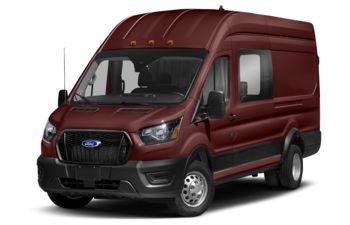 2021 Ford Transit-350 Crew - Kapoor Red Metallic