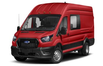 2021 Ford Transit-350 Crew - Race Red
