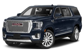 2021 GMC Yukon XL - Midnight Blue Metallic