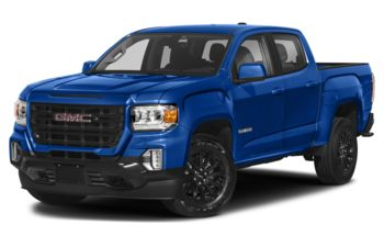 2021 GMC Canyon - Dynamic Blue Metallic