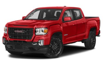 2021 GMC Canyon - Cayenne Red Tintcoat