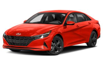 2021 Hyundai Elantra - Lava Orange