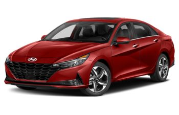 2021 Hyundai Elantra - Fiery Red