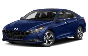 2021 Hyundai Elantra - Intense Blue
