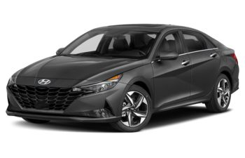 2021 Hyundai Elantra - Amazon Grey