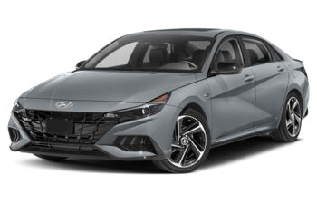 2021 Hyundai Elantra - Amazon Grey