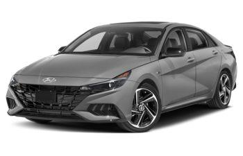 2021 Hyundai Elantra - Cyber Grey
