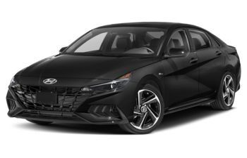 2021 Hyundai Elantra - Space Black