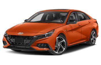 2021 Hyundai Elantra - Lava Orange