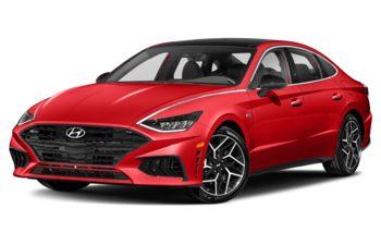 2021 Hyundai Sonata - Flame Red Tri-Coat