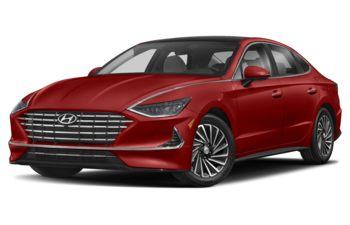 2021 Hyundai Sonata Hybrid - Flame Red