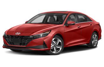 2021 Hyundai Elantra HEV - Fiery Red