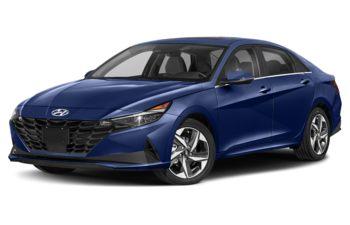 2021 Hyundai Elantra HEV - Intense Blue