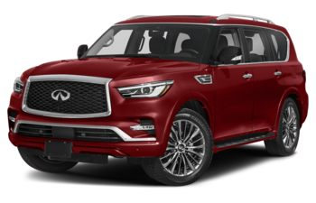 2021 Infiniti QX80 - Coulis Red Pearl