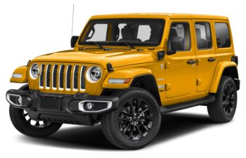 2021 Jeep Wrangler 4xe (PHEV) - Hellayella