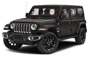 2021 Jeep Wrangler Unlimited 4xe - Granite Crystal Metallic
