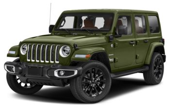 2021 Jeep Wrangler Unlimited 4xe - Sarge Green