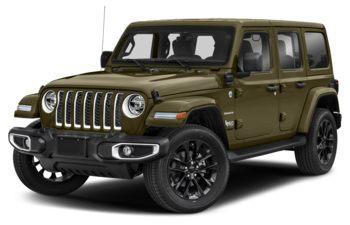 2021 Jeep Wrangler 4xe (PHEV) - Sarge Green