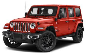 2021 Jeep Wrangler 4xe (PHEV) - Firecracker Red