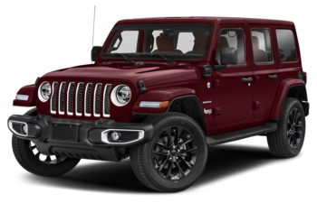 2021 Jeep Wrangler Unlimited 4xe - Snazzberry Pearl