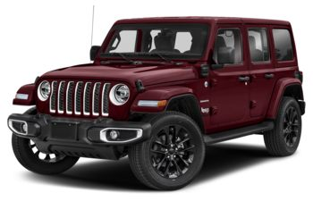 2021 Jeep Wrangler 4xe (PHEV) - Snazzberry Pearl
