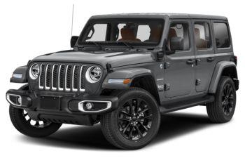 2021 Jeep Wrangler Unlimited 4xe - Billet Silver Metallic