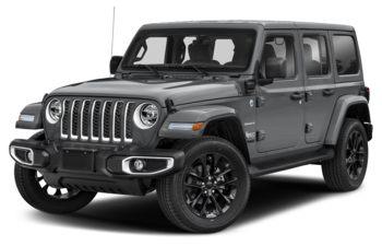 2021 Jeep Wrangler 4xe (PHEV) - Billet Silver Metallic