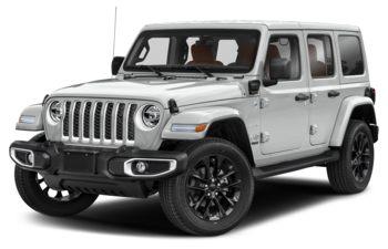 2021 Jeep Wrangler Unlimited 4xe - Bright White