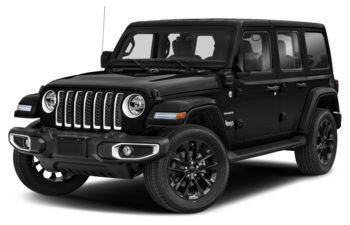 2021 Jeep Wrangler 4xe (PHEV) - Black