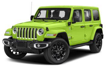 2021 Jeep Wrangler 4xe (PHEV) - Gecko Pearl