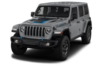 2021 Jeep Wrangler Unlimited 4xe - Billet Silver Metallic