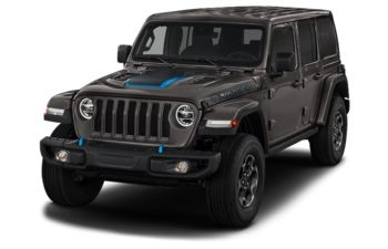 2021 Jeep Wrangler Unlimited 4xe - Granite Crystal Metallic