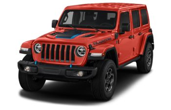 2021 Jeep Wrangler Unlimited 4xe - Firecracker Red