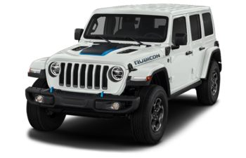 2021 Jeep Wrangler Unlimited 4xe - Bright White
