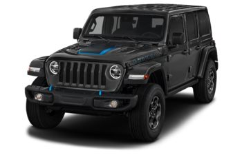 2021 Jeep Wrangler Unlimited 4xe - Black