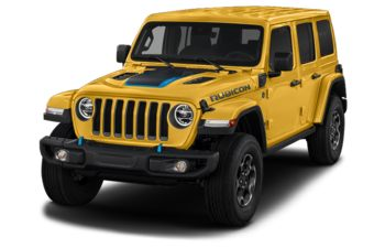 2021 Jeep Wrangler Unlimited 4xe - Hellayella