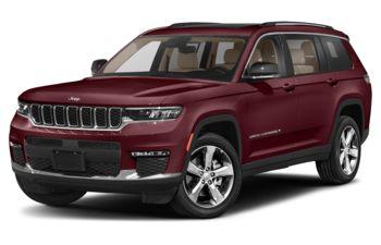 2021 Jeep Grand Cherokee L - Velvet Red Pearl