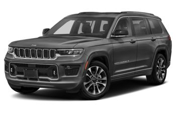 2021 Jeep Grand Cherokee L - Silver Zynith
