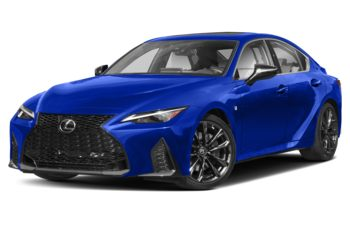 2021 Lexus IS 350 - Ultrasonic Blue Mica 2.0